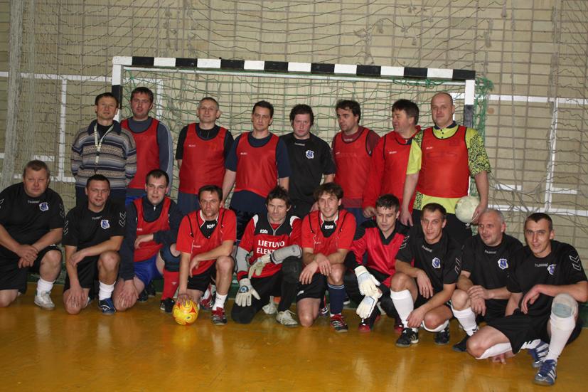 Elektrėnų savivaldybėje futbolas populiarėja