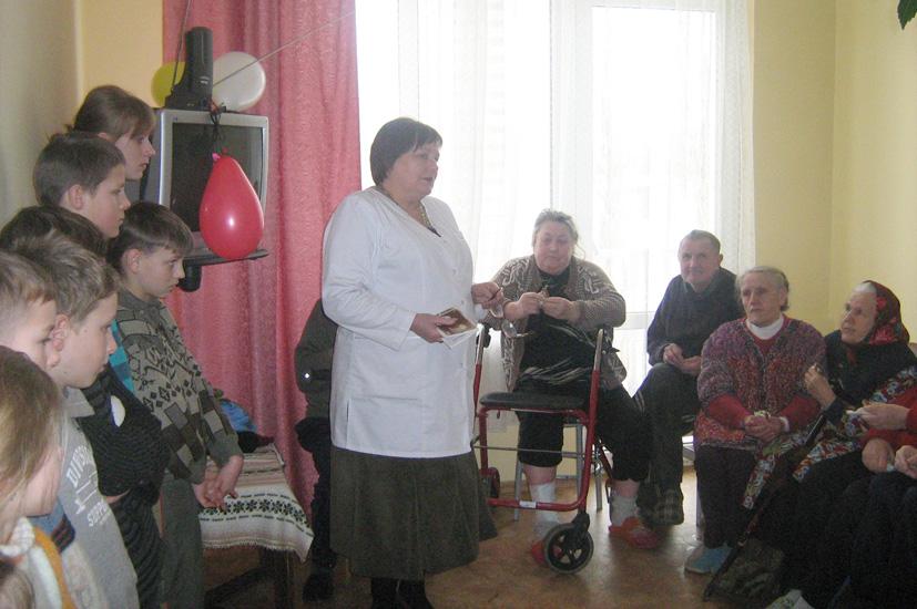 Vievio vaikų dienos centras minėjo Pasaulinę ligonių dieną