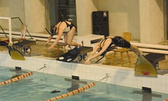 Plaukimas su pelekais Elektrėnuose