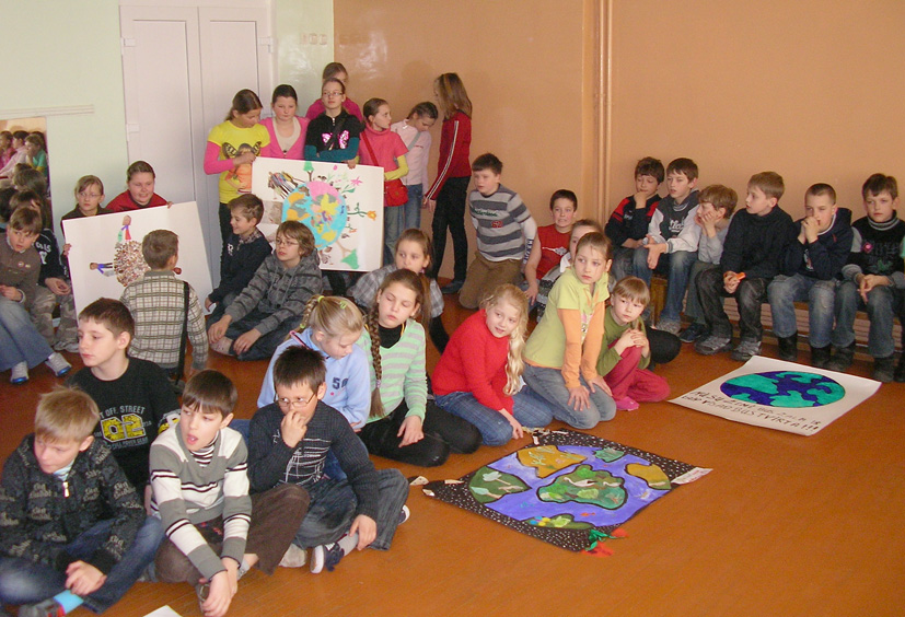 Žemės diena Elektrėnų pradinėje mokykloje