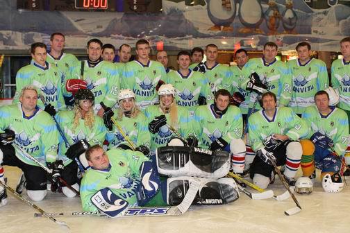 """""""Vanvita"""" komandos pergalė prieš LLRF čempionus"""