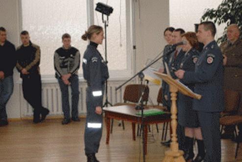 Informacija jaunuoliams, norintiems tapti policijos pareigūnais