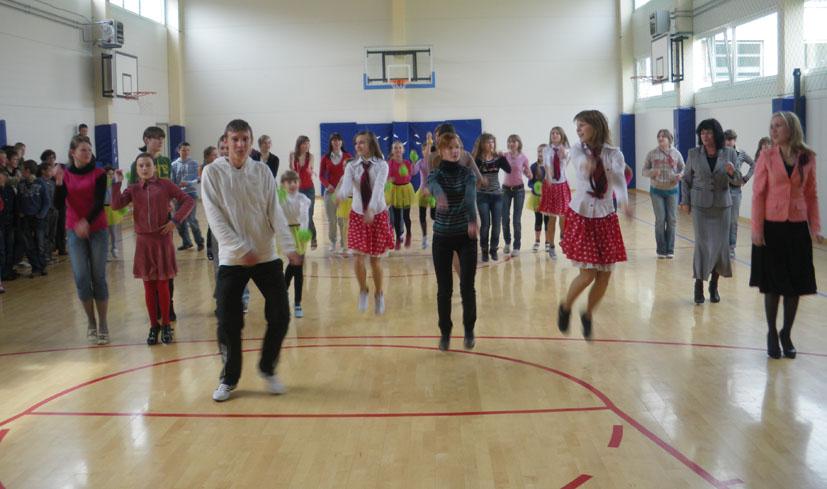 Tarptautinės šokio dienos atgarsiai Kietaviškių pagrindinėje mokykloje