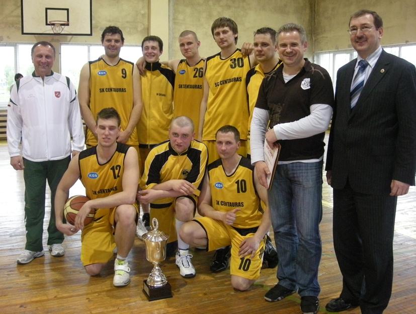 Krepšinio taurės 2010 nugalėtojai – Centauro komanda