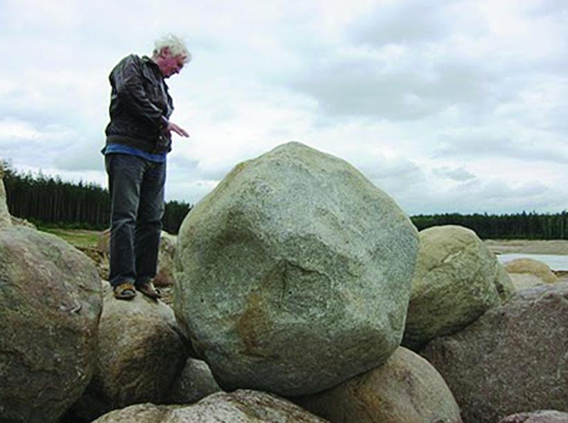 Atvežti akmenys