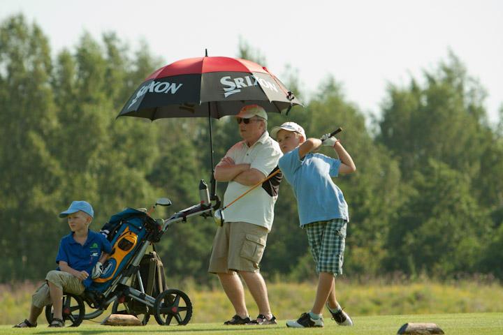 Jaunimo golfo čempionate rungėsi lietuviai ir latviai