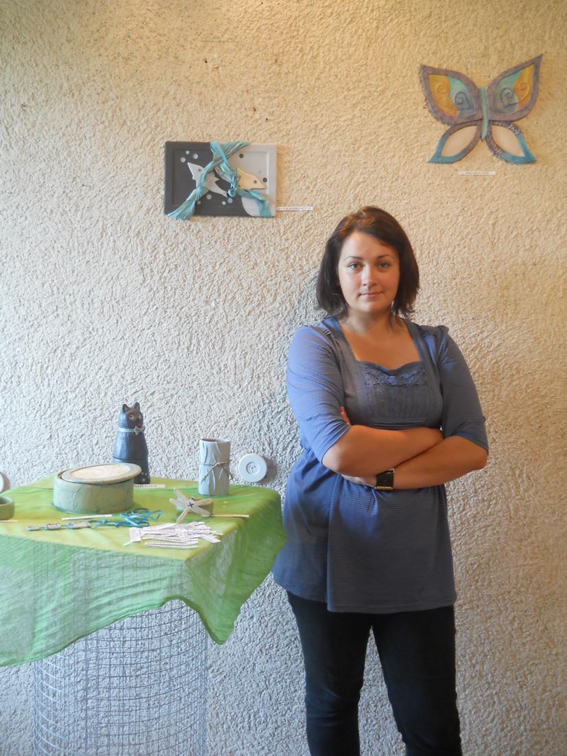Meninių odos darbelių paroda Rumšiškėse