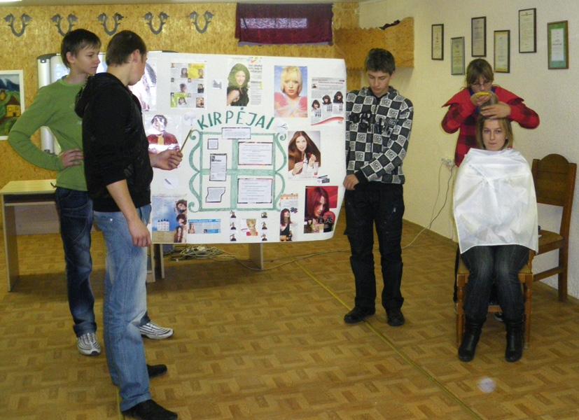 Profesinio orientavimo diena Kietaviškių  pagrindinėje mokykloje