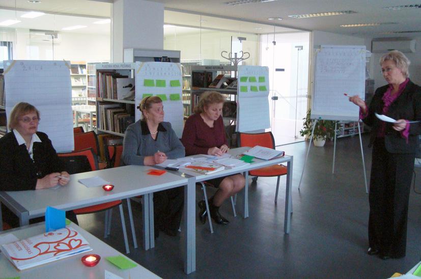 Suaugusiųjų mokymo(si) pagrindai bibliotekų darbuotojams