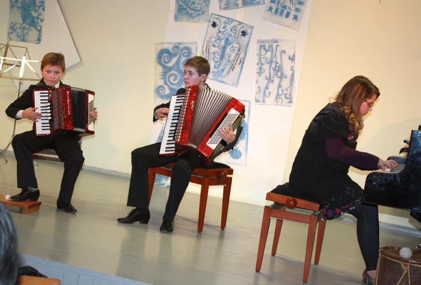 Muzikuojančių šeimų koncertas