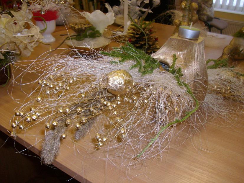 Kalėdiniai akcentai Vievio bibliotekoje