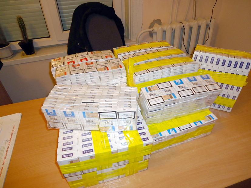 Rasta daugiau kaip 900 cigarečių pakelių
