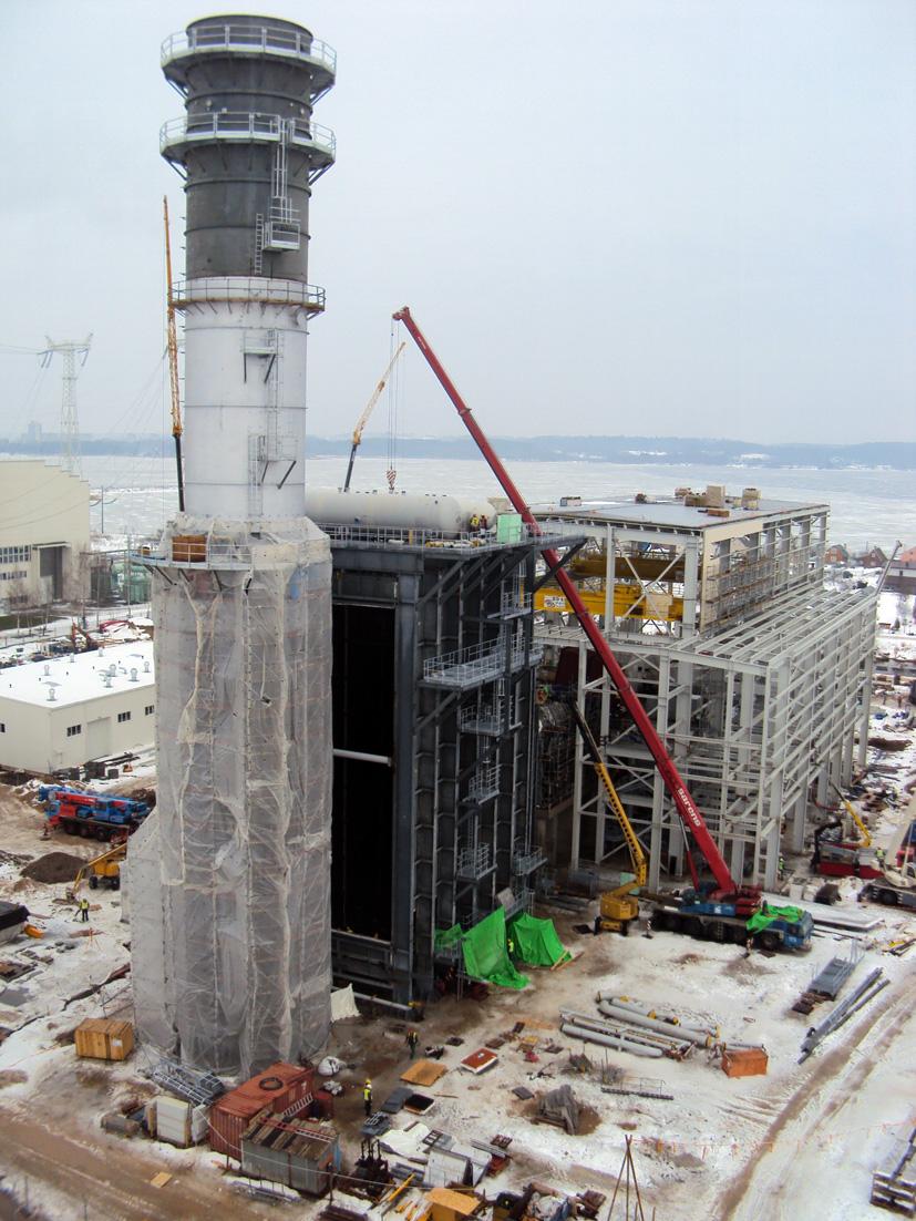 Naujajam Lietuvos elektrinės blokui reikės 30 proc. mažiau dujų