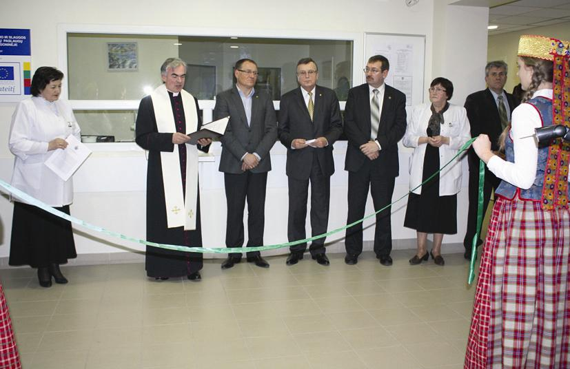 Elektrėnų ligoninėje – darbų pabaigtuvės