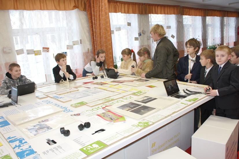 Interaktyvioje parodoje jaunimas kvietė pažinti Pietų Kaukazą