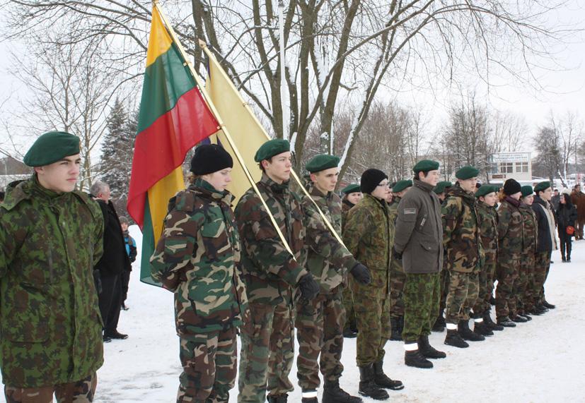Vasario 16 – oji – Lietuvos valstybės atkūrimo diena