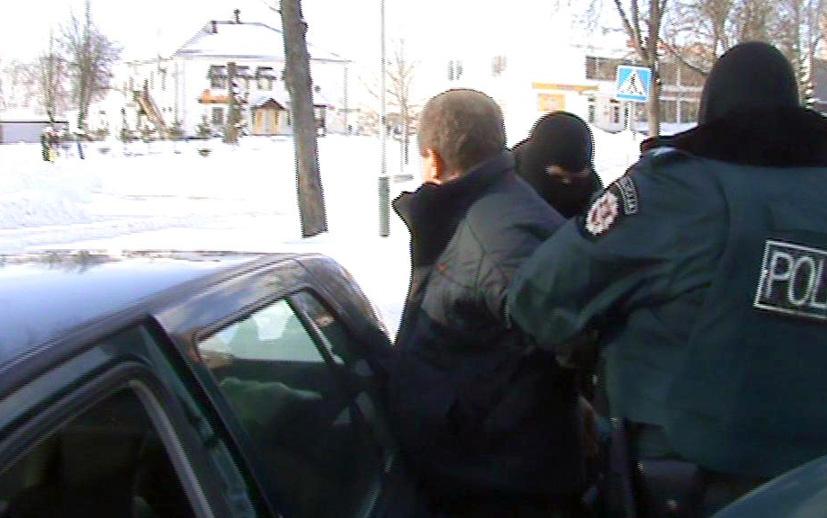 Elektrėnuose sulaikytas turto prievartautojas