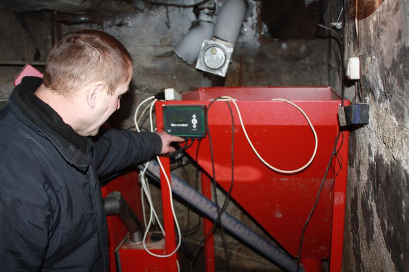 Brangus šildymo sistemos išlaikymas