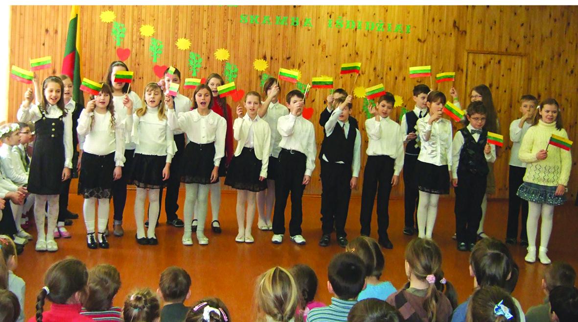 Lietuva – skamba išdidžiai
