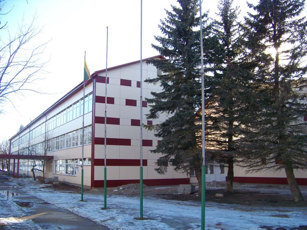 Baigiama  VšĮ Elektrėnų profesinio mokymo centro renovacija