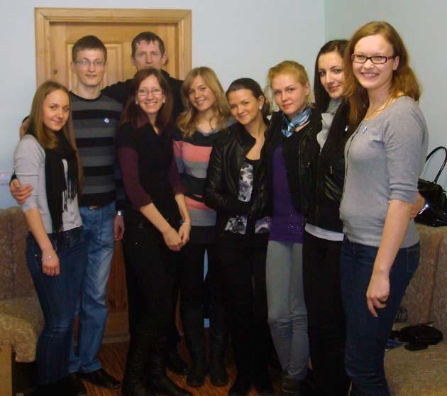 """Vizitas į Jaunimo organizacijos """"Darbas"""" Elektrėnų skyrių"""