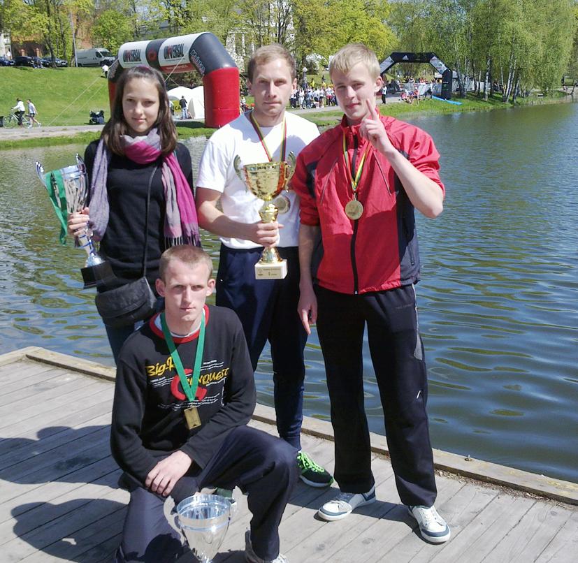 Iš tarptautinio Druskininkų maratono – 4 taurės