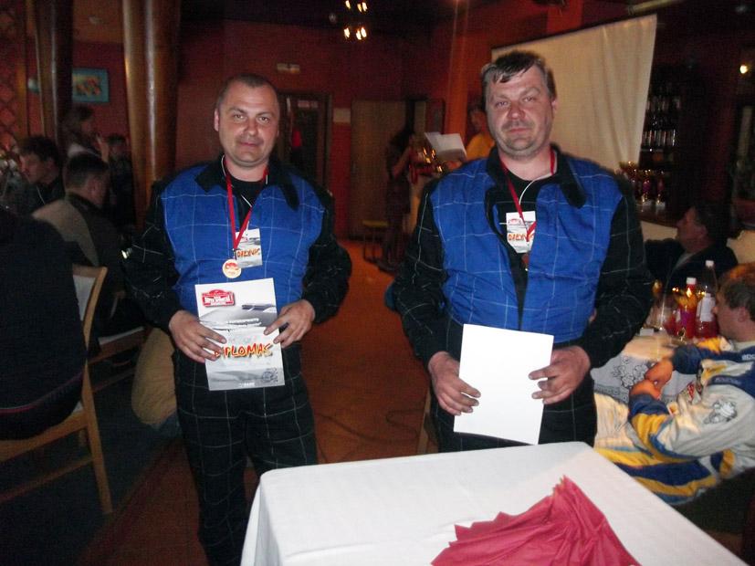 Ralio dalyviai ir nugalėtojai – broliai iš Elektrėnų