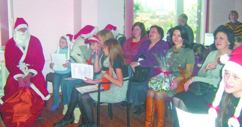 Vievio vaikų dienos centro kalėdinis džiaugsmas