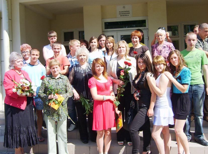 Dešimtokai atsisveikinino su mokykla