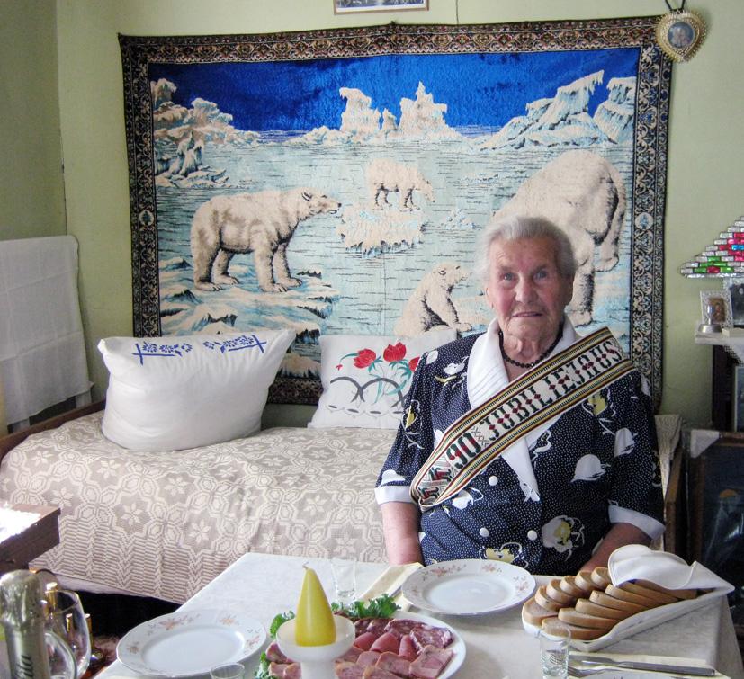 Vyriausiai Pastrėvio kaimo  gyventojai – 90 metų
