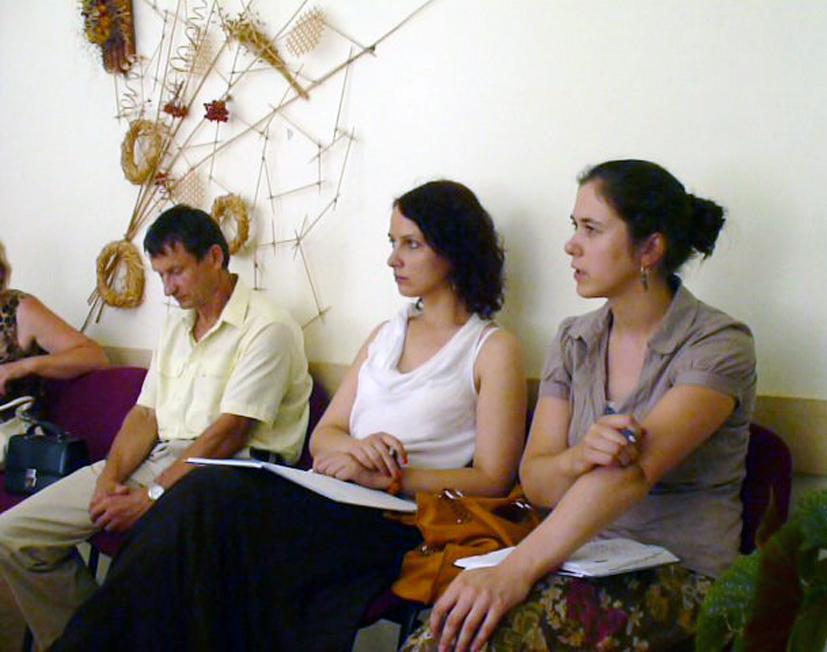 Elektrėnų bendruomenės iniciatyvų centrą aplankė svečiai