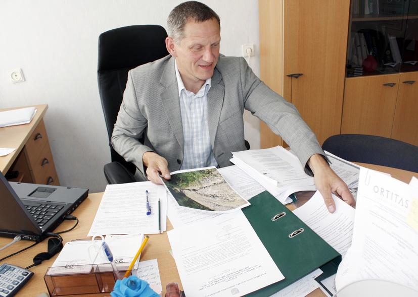 Interviu su administracijos direktoriaus pavaduotoju Vaidu Bernotu. Politinio pasitikėjimo postas  patikėtas  nepartiniam