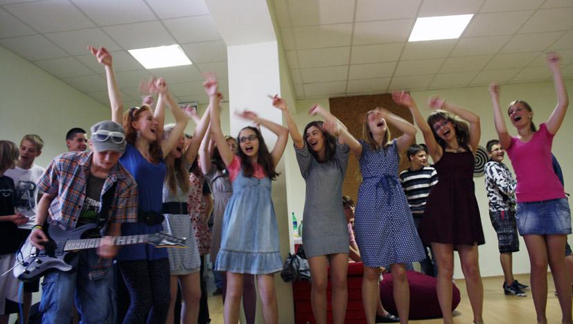 Elektrėnuose yra aktyvaus jaunimo!