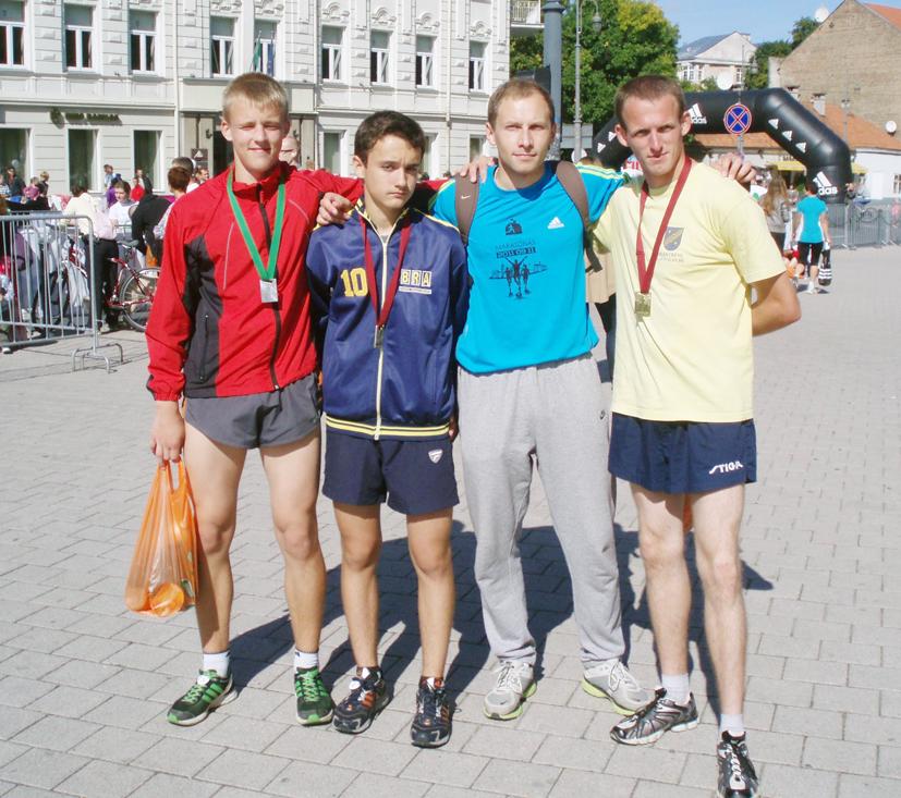 Tarptautiniame Vilniaus maratone Elektrėnų sporto mokyklos komanda – trečia