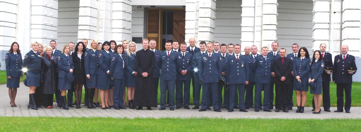 Elektrėnų policijos komisariate  paminėta Angelų Sargų diena – Policijos šventė