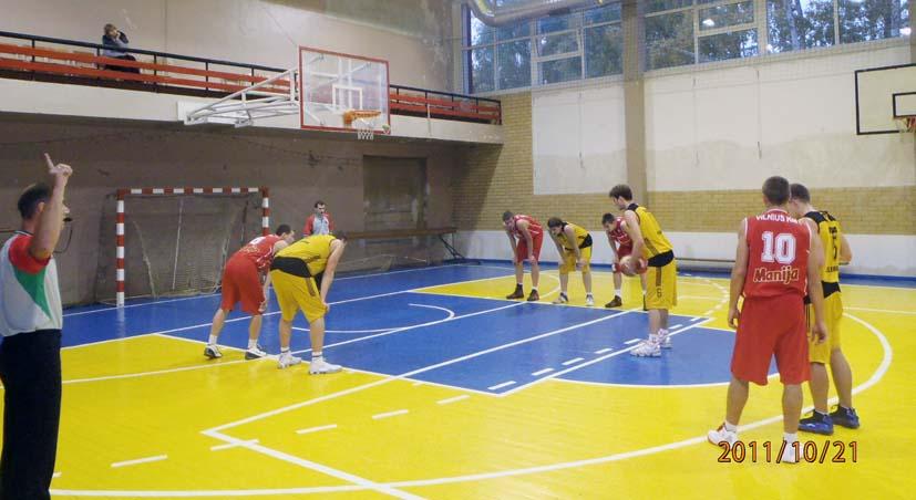 Elektrėniečiai pergalingai pradėjo krepšinio sezoną