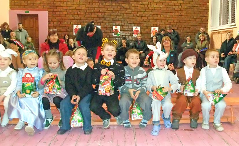 Kalėdinė pasaka Pastrėvio pagrindinėje mokykloje