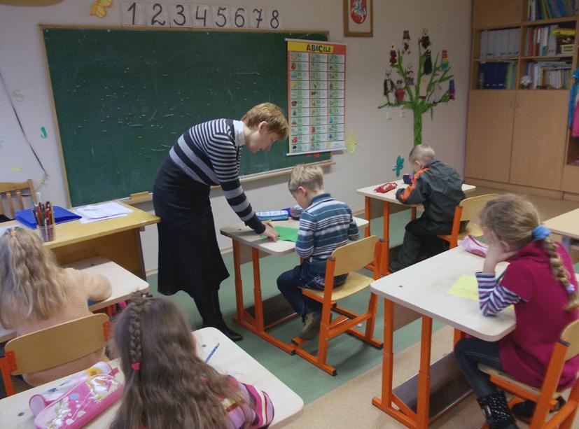 Atvira pradinių klasių mokytojų veiklos diena  mokinių tėvams