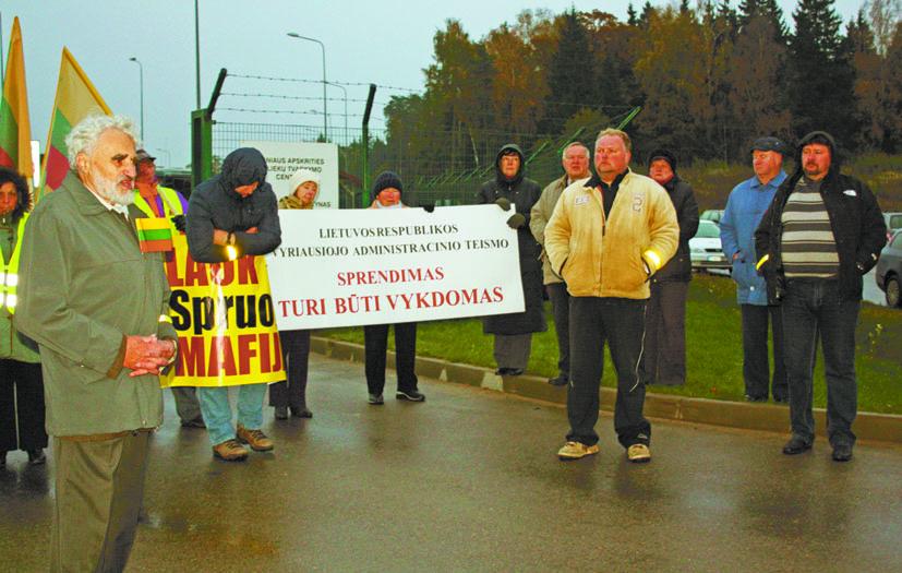 Kazokiškių sąvartynui negalioja nei įstatymai, nei teismo sprendimai
