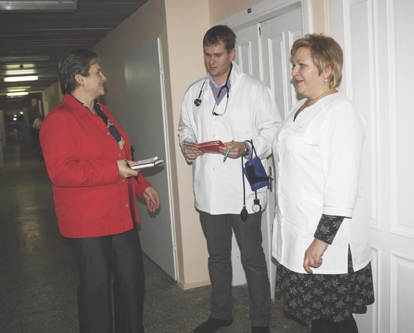 Vievio ligoninės kasdienybė
