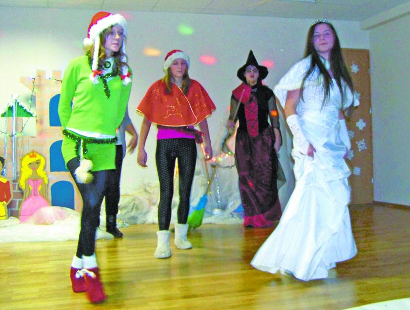 Kalėdų Senelis aplankė Elektrėnų profesinio mokymo centrą