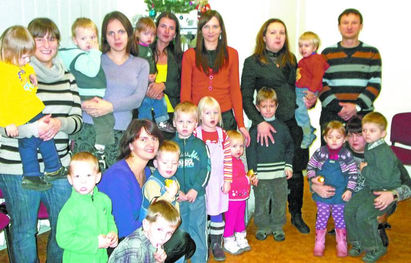 Mamyčių klubo vaikus aplankė Kalėdų Senelis