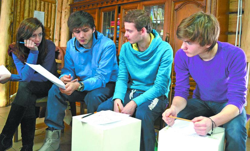 Semeliškėse jaunimas iš 7 šalių kviečia pažinti įvairias kultūras ir mokymosi galimybes Europoje