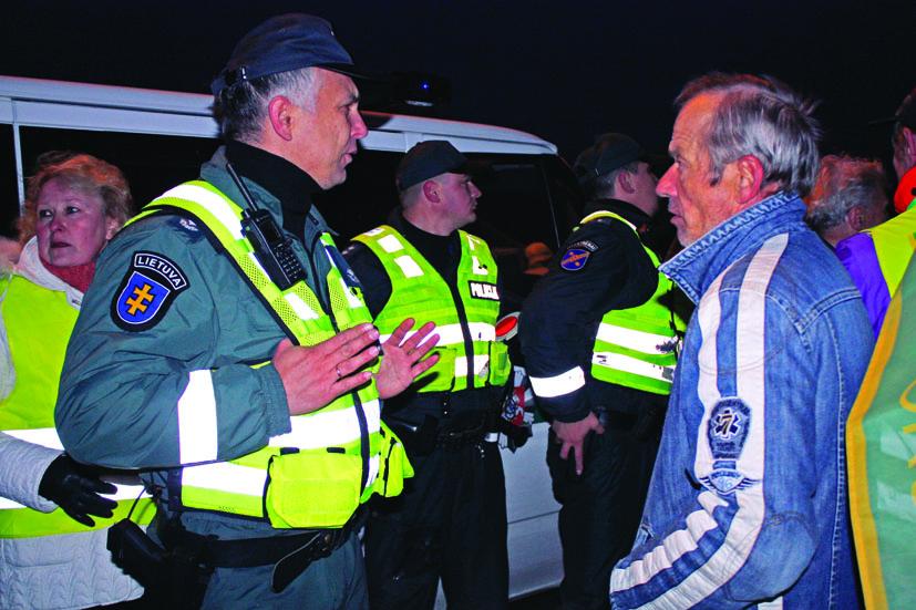 Išnagrinėtos administracinės bylos dėl įvykių prie Kazokiškių sąvartyno