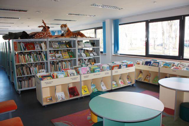 Bibliotekai-45 metai. Elektrėnų bibliotekos Vaikų skyrius – ir mažiems, ir dideliems