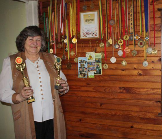 Birutė Kazlauskienė: gyvenimas – ne šaškės, dvidešimties ėjimų nenumatysi