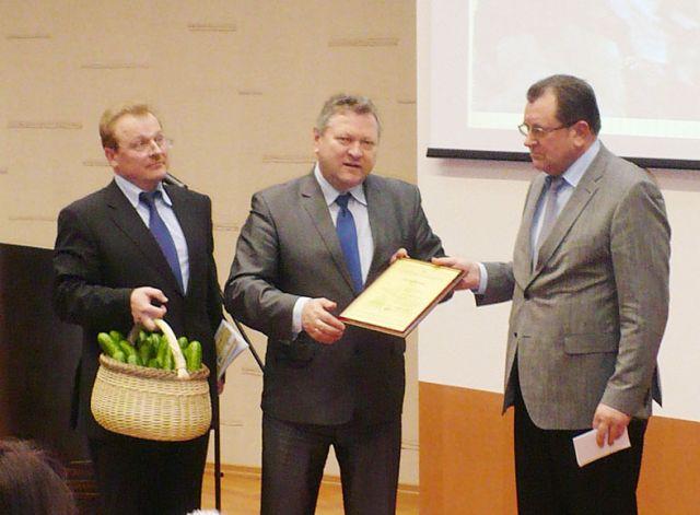 """UAB """"Kietaviškių gausa"""" įteiktas išskirtinės kokybės sertifikatas"""