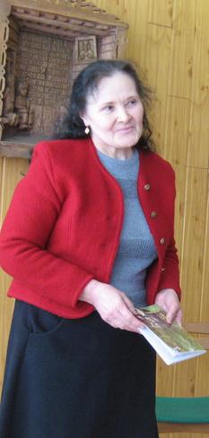 Elenos Vidrinskienės gimtojo kaimo įkvėpta kūryba