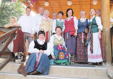 Kietaviškiečių dainos skambėjo Ukrainoje