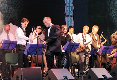 Elektrėnų kultūros centro kieme ir vėl rinkosi džiazo meistrai